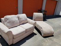 Love Seat and Chaise in Warner Robins, Georgia