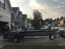 Bass Tracker Pro Team 190 TW in Fort Bragg, North Carolina