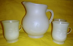 VINTAGE KOOL-AID PITCHER & CUPS in Naperville, Illinois