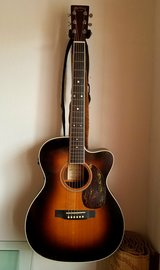 Martin 000C-16RGTE acoustic/electric guitar in Okinawa, Japan