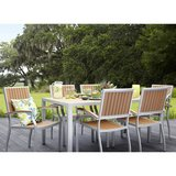 llen roth patio set 6 chairs and table Brand new cost 1400$ in Fort Campbell, Kentucky