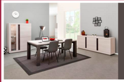 Marco Dining Set in White Oak or French Oak including delivery in Ansbach, Germany