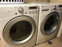 LG front load washer and dryer in Fort Knox, Kentucky