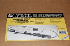 Lionel Sears BRAND Central ZENITH Express O27 Electric Train Set With Extras in Plainfield, Illinois