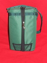 Insulated Wine Bottle Padded Cooler Travel Bag ~ Picnic Travel Tote NEW in Naperville, Illinois