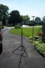 PAIR OF SPEAKER STANDS in Oswego, Illinois