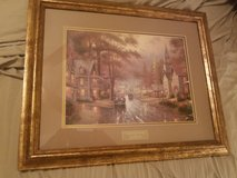 Thomas Kinkade framed print in Baytown, Texas