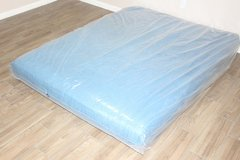 Queen Futon Mattress (blue) in CyFair, Texas