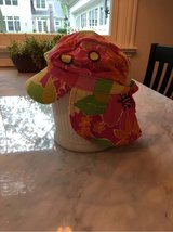 Girls Hannah Anderson Sun Hat (waterproof + neck coverage) Size M (2-5) in Naperville, Illinois