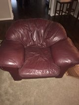 leather couch and chair in Spring, Texas