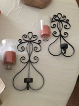 Iron candle sconces set in Warner Robins, Georgia