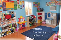 WANTED: Preschool Toys or Items in Naperville, Illinois
