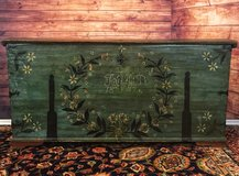 Antique Trunk 1847 in Ramstein, Germany