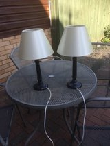 Table lamps in Lakenheath, UK