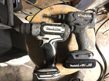 Makita still and impact 1 battery and charger in Oceanside, California
