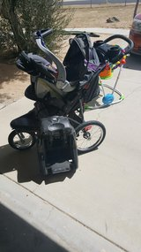 Jogger stroller with carseat and base in 29 Palms, California