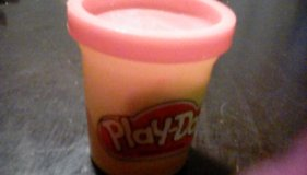 Orange play doh in Fort Polk, Louisiana