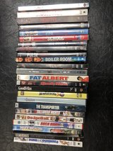 DVDs $2.00 ea. or two for $3.00 in Fairfield, California