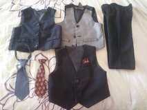Size 12 month boy dress clothes lot in 29 Palms, California