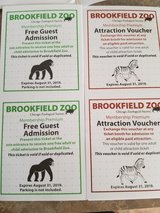 Brookfield zoo tickets in Joliet, Illinois