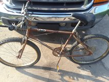 Bicycle, fresh barn find in Camp Lejeune, North Carolina
