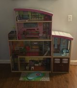 Kid Kraft Wood Doll House and Accessories in Naperville, Illinois