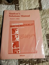Brand new college math book ISBN 9780321867339. Paid $40 in Lockport, Illinois
