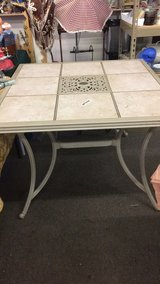 Patio Table (Metal with Tile) in Fort Leonard Wood, Missouri