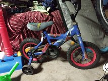 Toddler Spiderman bicycle in Camp Pendleton, California