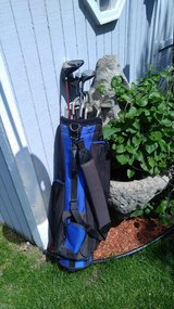Full set left handed golf clubs with bag in New Lenox, Illinois