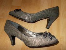 Ladies shoes size 6 by Mary G Leather Silver Grey in Cambridge, UK