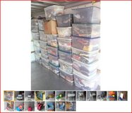 ENTIRE STORAGE LOCKER LOT OF BOYS BABY YOUTH CHILDS CLOTHES TOYS BIKE in St. Charles, Illinois