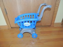 Child Size Pretend Play Plastic Walmart Grocery Shopping Cart in Morris, Illinois