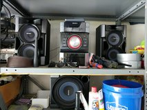 Sony shelf stereo system with sub in Camp Lejeune, North Carolina