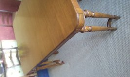 Dining room table 9 legs Mahogany in Naperville, Illinois