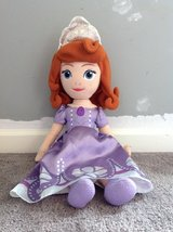 Disney Princess Sophia Pillow Doll in Fort Campbell, Kentucky