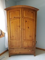 Armoire/ Media Center/Dresser. Solid Wood by Thomasville. Reduced in Tinley Park, Illinois