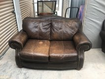 Leather Couch and Love Seat in Alamogordo, New Mexico