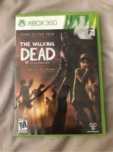 The Walking Dead Xbox 360 game in Travis AFB, California