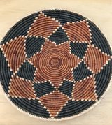 Large Woven Coil Basket Bowl Tray Wall Art in Glendale Heights, Illinois