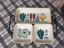 Vintage Tray Set in Ramstein, Germany