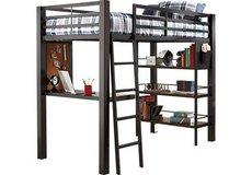 Louie Gray Loft Beds from Rooms to Go in Fort Sam Houston, Texas