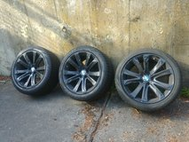 "4 x BMW 491M 20"" Wheels Rims (gloss black) with Pirelli Scorpion run flat Tires - Perfect cond!! in Stuttgart, GE"