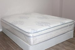 Queen Serta Perfect Sleeper Valleybrook Euro-top in Spring, Texas