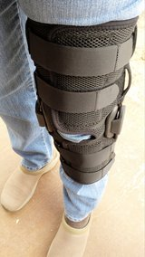 Large Knee Brace, Never used, never worn.  Insurance Paid $1800.00 for it. in 29 Palms, California