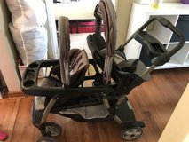 Graco sit/stand double stroller in New Lenox, Illinois