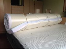 5 inch 9 month old (so very clean) foam padding for king size bed (can be cut to a different size. in Montgomery, Alabama