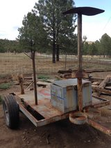 Welding trailer in Alamogordo, New Mexico