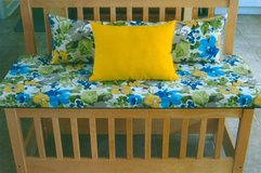 Benches - Themed, home-made, high-end upholstery fabric, cushions/pillows included in Palatine, Illinois
