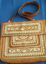 Hand woven Soft Leather Bag in Alamogordo, New Mexico